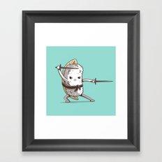 Samurai sushi - Eel Framed Art Print