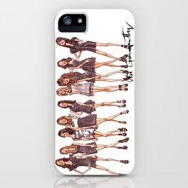 K-Pop Watercolor iPhone Case