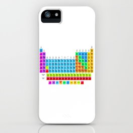 Periodic Table Mendeleev iPhone Case