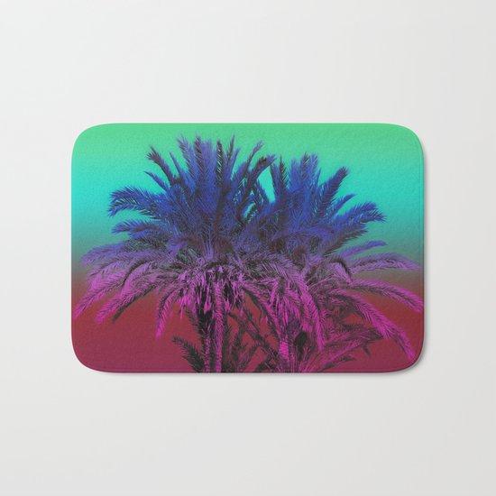 Enjoy The Summer with Palms Bath Mat