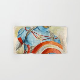 Capt America - Fictional Superhero Hand & Bath Towel