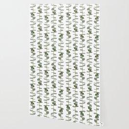 Eucalptus Branches - Naural Botanic Patterns Wallpaper
