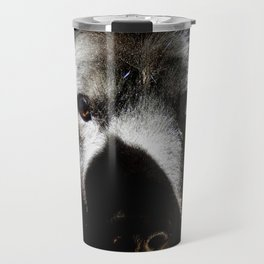 Serious in the sunshine Travel Mug