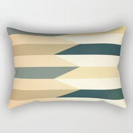 Pencil Clash I Rectangular Pillow