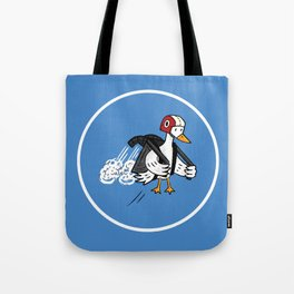 Jet Duck Tote Bag