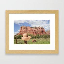 11x14 Art Print Sedona AZ Framed Art Print