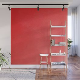 Fabulous red fiesta ombre gradient Wall Mural