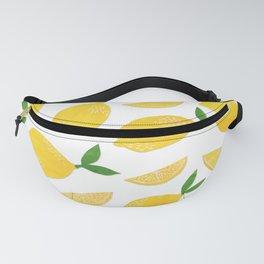 Lemon Cut Out Pattern Fanny Pack