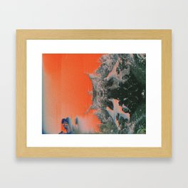 C0NFR0NT Framed Art Print