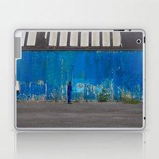 Paint it blue Laptop & iPad Skin