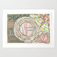 divergent Art Prints featuring Divergent Windows (2014) by Eli Dorman