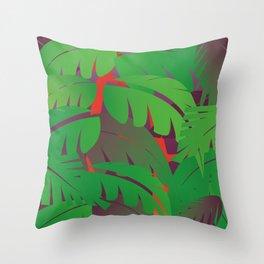 Go Wild pillow Throw Pillow