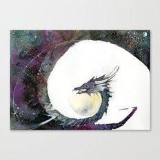Cosmos Dragon Canvas Print
