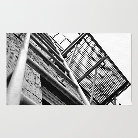 Alley balcony Rug