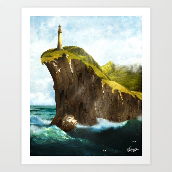 At the End of the Earth Art Print