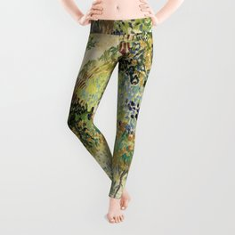 Vincent Van Gogh : Garden at Arles Leggings
