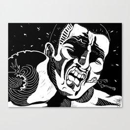 Glass Jaw Canvas Print