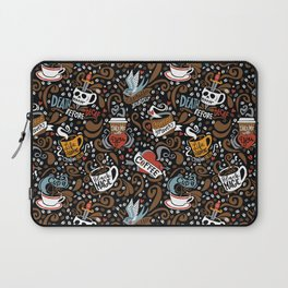 Brewed & Tattooed Laptop Sleeve
