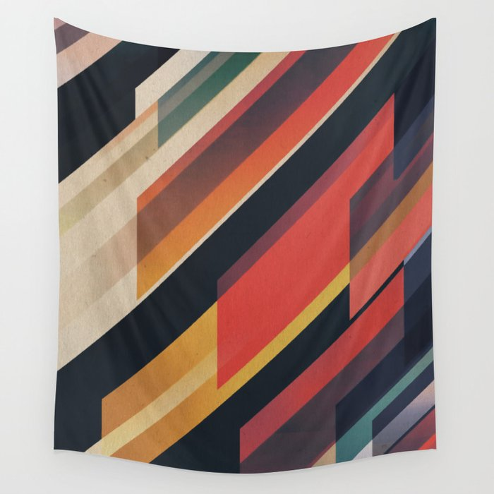 ABSTRACT 9b Wall Tapestry