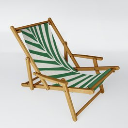 Minimalist Palm Leaf Sling Chair