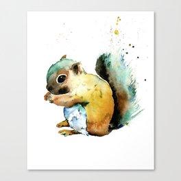 Squirrel - Nuts Canvas Print