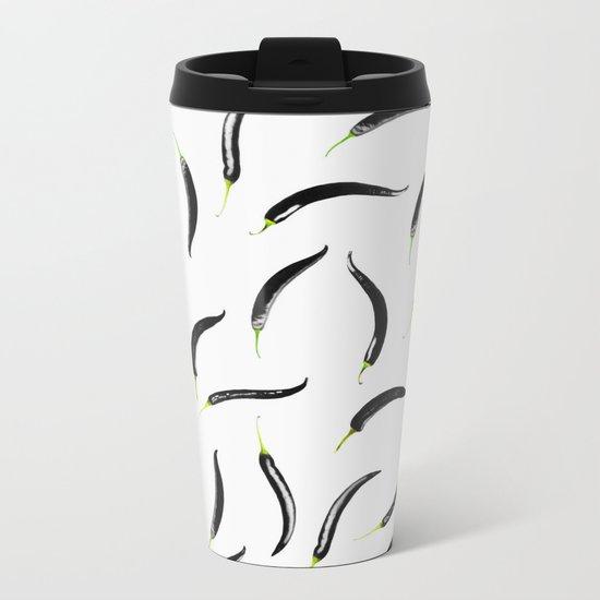black chili peppers Metal Travel Mug