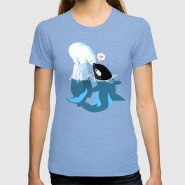 Killer Whale love Bear Polar T-shirt