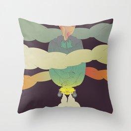 Stoner Bat Throw Pillow