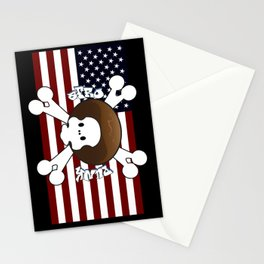 Afro Punk : Skull Stationery Cards
