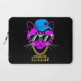 Check Meowt Bling Laptop Sleeve