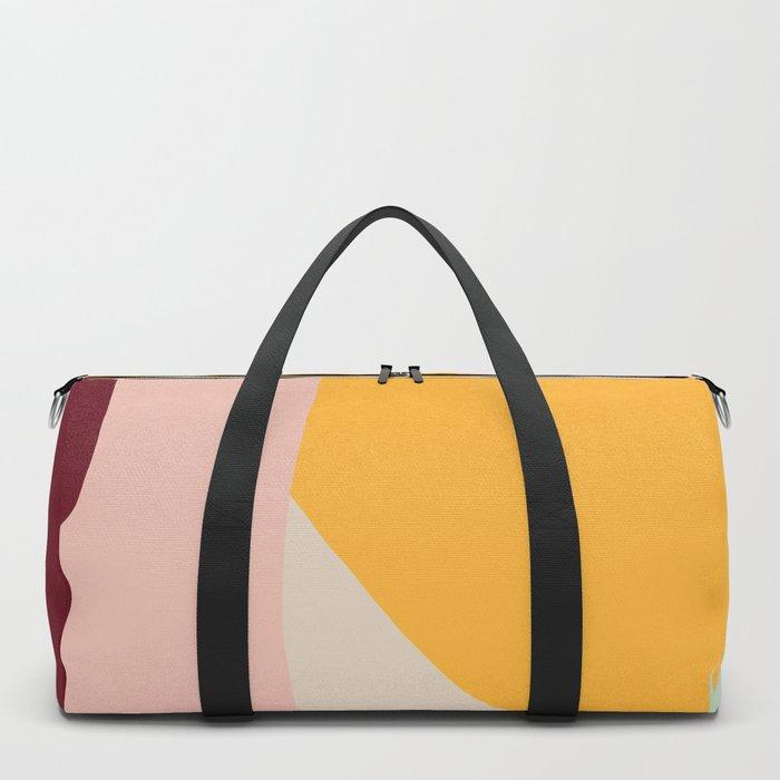 Ziz Abstract Painting Duffle Bag
