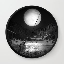 Somewhere You Are Looking At It Too Wall Clock