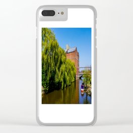Historic Flour Mill. Clear iPhone Case
