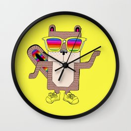 Ricky rainbow glass collection Wall Clock