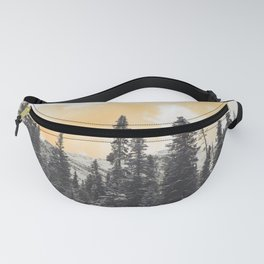 Orange Skys Above the Pines Fanny Pack