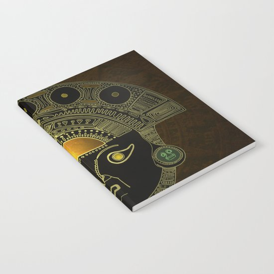 God Sun mask (INTI) Notebook