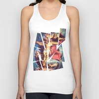 jesus Tank Tops featuring Jesus by Ibbanez