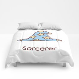 Cute Dungeons and Dragons Sorcerer class Comforters