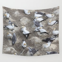 Gannet Colony Wall Tapestry