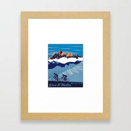 giro d italia Framed Art Print