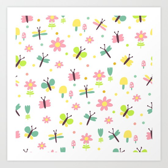 Sweet Fly Art Print