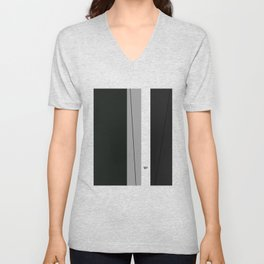 Kirovair Blocks Green #minimal #design #kirovair #decor #buyart Unisex V-Neck