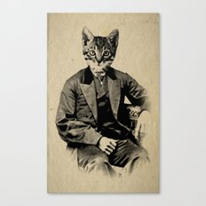 The Fancy Feline Canvas Print