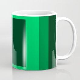Dark Green Square Design 2 Coffee Mug