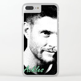 Jensen Ackles Clear iPhone Case