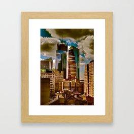 New York Towers Framed Art Print