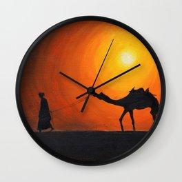 Returning Home Wall Clock
