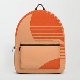 Sunrise/ Sunset Horizon Lines Backpack