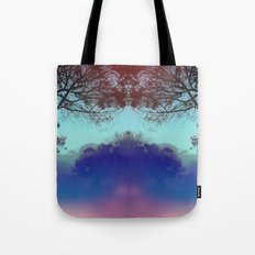 Santa Barbara - The fog rolled in and my mind rolled out. Tote Bag