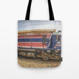 Train Adventure Tote Bag